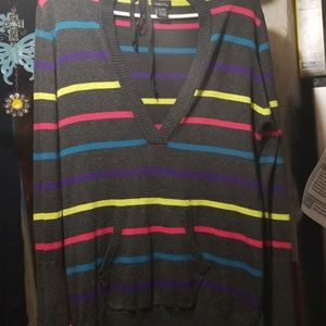Rue 21 pullover hoodie sweater dress